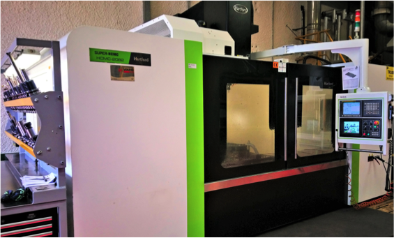 CNC Machining Centre in operation