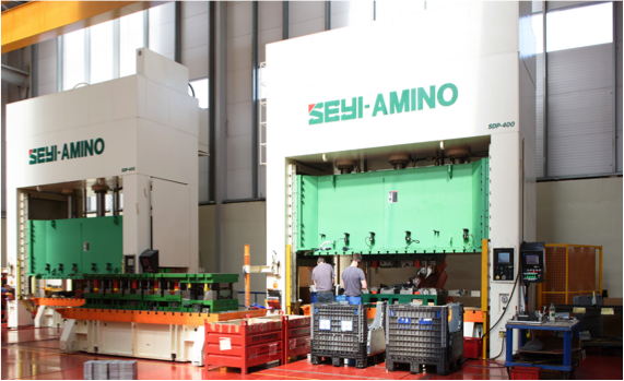 400ton Seyi Amino hydraulic press